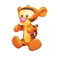 Boneco de Vinil Tigrão Baby  Líder