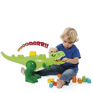 Cardoso Baby Land Dino Jurassic Com 30 Blocos