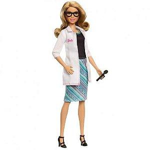 Boneca Barbie Profissão Oftalmologista Mattel