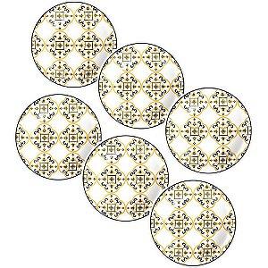 Jogo Prato Fundo São Luis Cerâmica