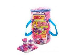 Blocos Para Montar / Sacola Multiblocos Debby 300 Peças Bell Toys