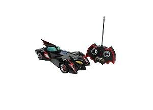 Carro Controle Remoto Batmóvel 7 Funções com Bateria Recarregável