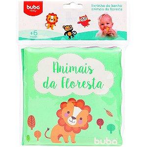 LIVRINHO DE BANHO ANIMAIS DA FLORESTA - BUBA BABY