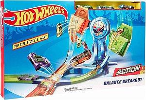 Pista Desafiodo Equilíbrio Hot Wheels FHR34 Mattel