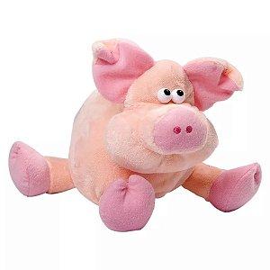 Porco Rosa De Pelúcia Lovely