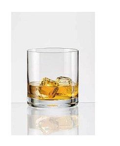 Jogo Copo Cristal Whisky Bohemia Bar Line 280 Ml