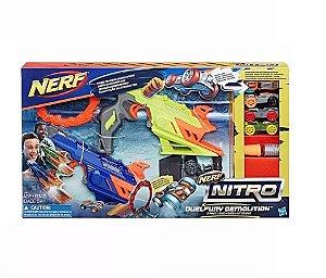 Lançadores Nerf Nitro - Kit Duplo - Duelfury - Hasbro C0817