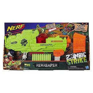 Lançador Nerf Zombie Revreaper Hasbro