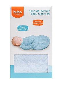 Saco de Dormir Baby Super Soft Azul Buba
