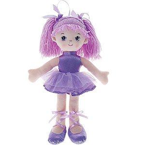 Boneca Bailarina Glitter Buba