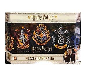 Puzzle Panorama Harry Potter Quebra-Cabeça 350 Peças Grow