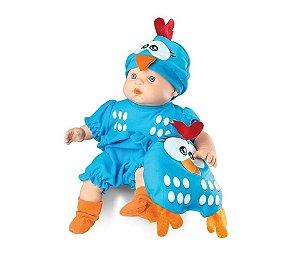 Boneca Galinha Pintadinha Mini Baby
