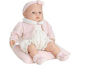 Boneca Bebê Bolita Sonho de Ninar com Som Roma