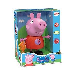 Boneco Peppa com Atividades - Peppa Pig