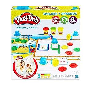 Massinha Play Doh Moldar e Aprender Números e Sequências
