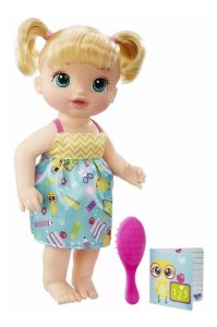 Baby Alive Escolinha Loira - Hasbro
