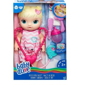 Boneca Baby Alive Cuida de Mim Loira