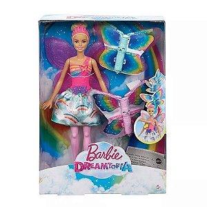 Barbie Fada Asas Mágicas Mattel -  FRB08