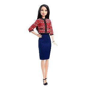 Boneca Barbie Profissões Política GFX28