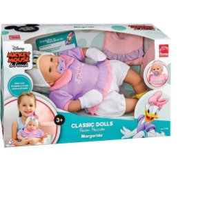 Boneca Bebê Margarida Recém-nascido Classic Dolls