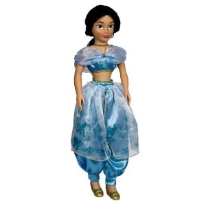 Boneca Princesa Jasmine Disney 77 Cm