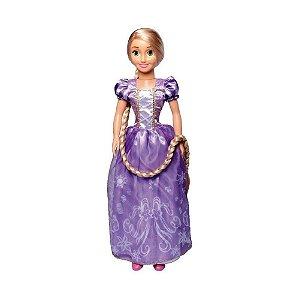 Boneca Princesa Rapunzel Disney 77 Cm