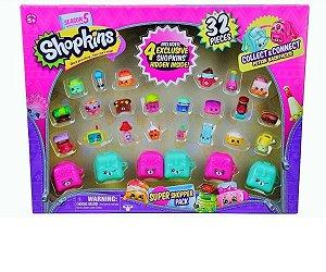 Shopkins Ultra Kit Shopkins 32 Itens DTC