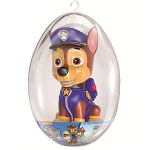 Boneco Cofre Patrulha Canina no Ovo de Páscoa Lider