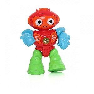 Mini Robô com Som e Luzes  Dican