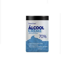 Álcool Creme Antisséptico 70% Kanechom 900g