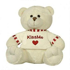 Urso De Pelúcia Kiss Me 24 Cm Baby Brink