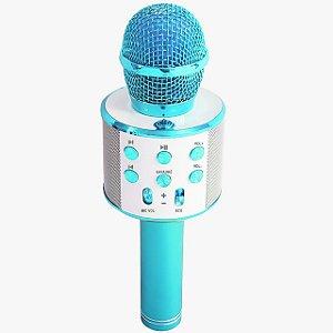 Microfone Karaokê Show Azul Toyng
