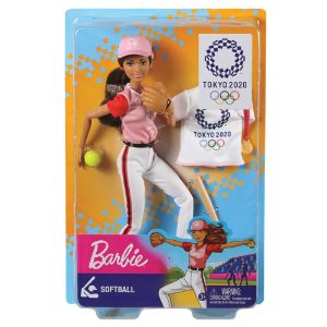 Barbie Esportista Olímpica Softball Mattel