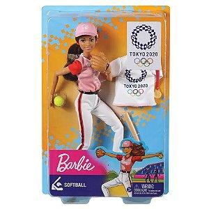 Barbie Esportista Olímpica Softball Mattel