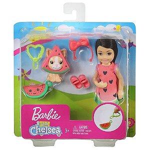 Boneca Barbie Club Chelsea Festa a fantasia - Melancia
