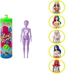 Barbie Color Reveal 7 Estilo Surpresa Gastronomia Mattel