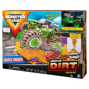 Playsert Monster Digger Monster Jam com Pista