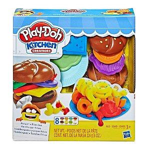 Massinha Play Doh Hambúrguer e batata frita Hasbro