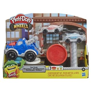 Conjunto Massinhas  Play-Doh  Wheels  Reboque Hasbro