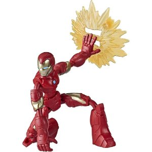 Boneco Homem de Ferro Bend and Flex Marvel Avengers Hasbro