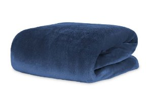 Cobertor Manta Blanket Queen 300g Blue Night - Kacyumara