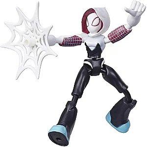 Boneco Ghost Spider Bend and Flex Homem Aranha Hasbro
