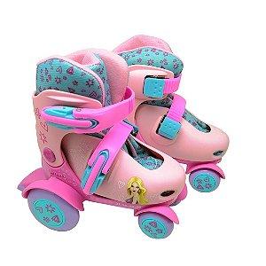 Patins Roller Ajustável N. 27 a 30 Belinda DM Toys