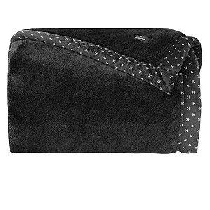 Cobertor Manta Blanket 700 Casal Preto  - Kacyumara