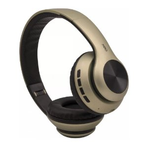 Fone Bluetooth Dobrável Headset Glam Dourado OEX