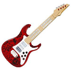 Guitarra Elétrica Infantil Show Toyng