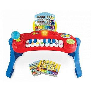 Teclado Bebê Musical Piano Baby Music Center WinFun