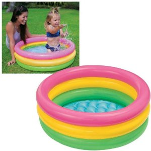 Piscina Baby Por do Sol 68 Litros Intex