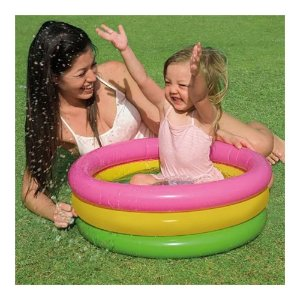 Piscina Baby Por do Sol Infantil 34 Litros Intex