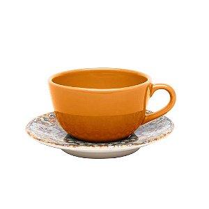Xícaras de Chá com Pires Avulsa Castello Oxford
